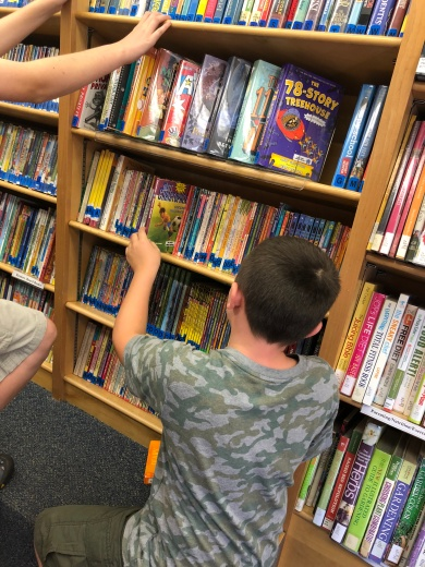 Bookmobile at West View Elementary
