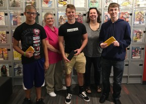 Donated Calculators to NH Senior High School